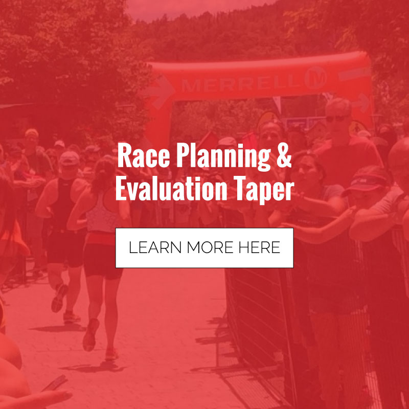 Track Cat Race Planning & Evaluation Taper Project